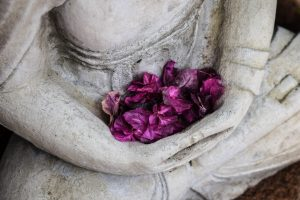 buddha-purple-flowers-lap-300x200 Whatever You Want, You Must Give Away
