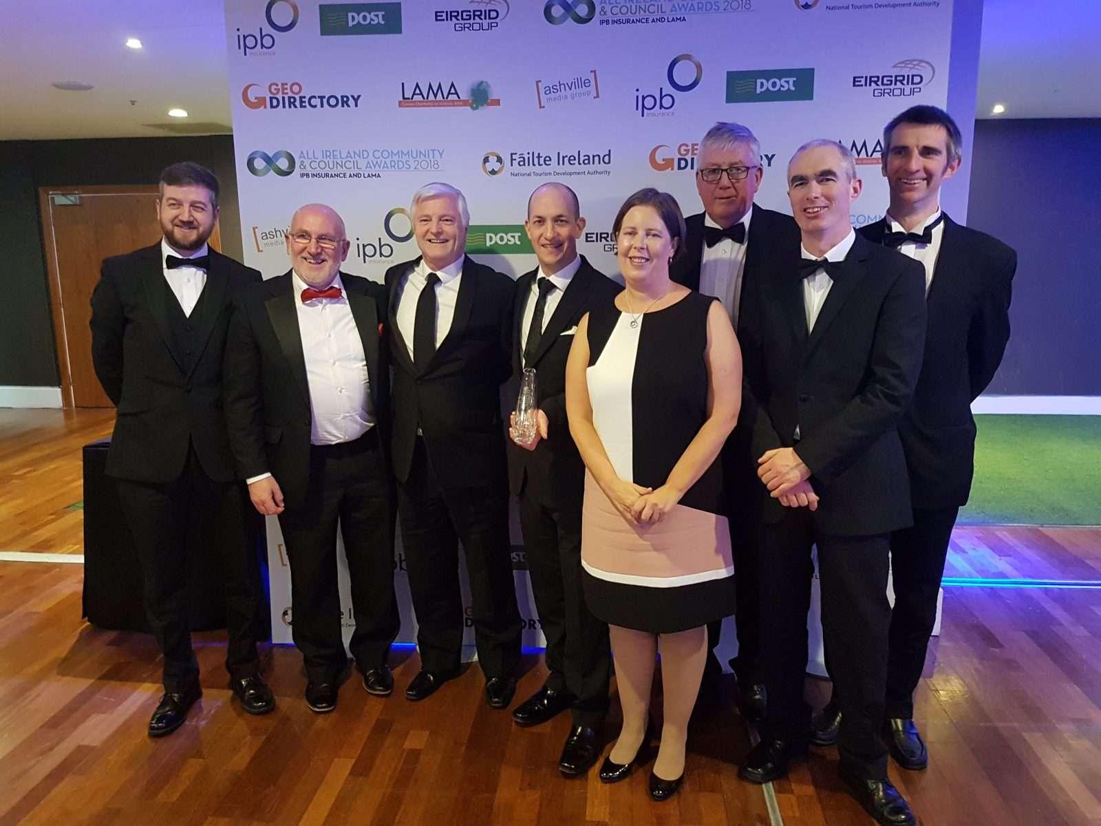 Wexford-Table Creacon Wins Silver at All Ireland Community & Council Award